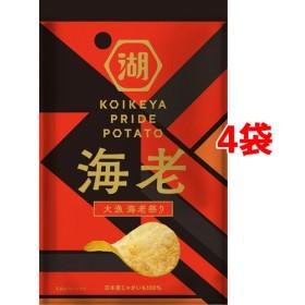 湖池屋 KOIKEYA PRIDE POTATO 大漁 海老祭り (60g4袋セット)
