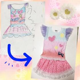 わが子をデザイナーにするオリジナルプリントTシャツ【お見積もり】