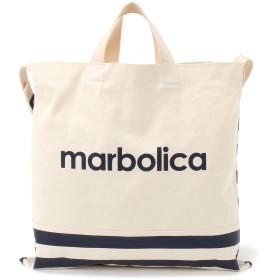 marbolica マルボリカ ボーダートートバッグ