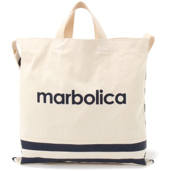 marbolica マルボリカ ボーダートートバッグ