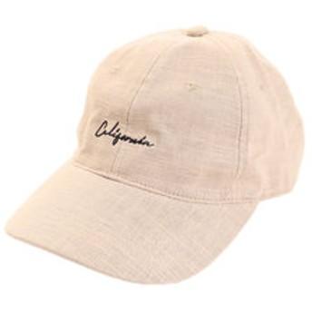 【Super Sports XEBIO & mall店:帽子】リネン刺繍キャップ Calif 897PA9ST1703 BEG