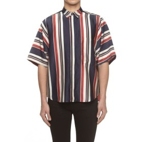 SISE / プリントビッグポケットシャツ
