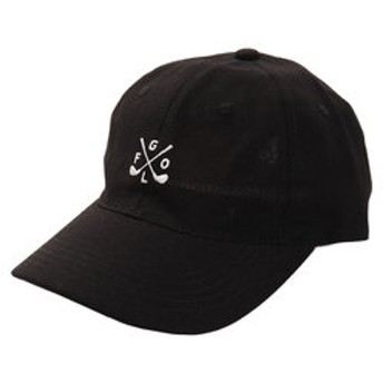 【Super Sports XEBIO & mall店:帽子】リネン刺繍キャップ GOLF 897PA9ST1742 BLK