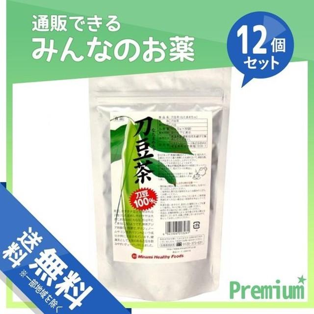 ミナミヘルシーフーズ 刀豆茶 30袋 12個セット