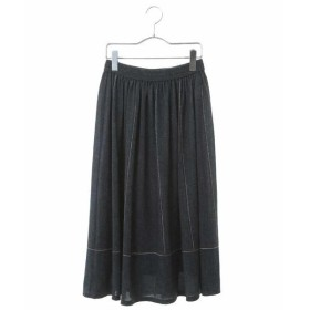 HIROKO BIS ヒロコビス 3Dデニムプリントスカート