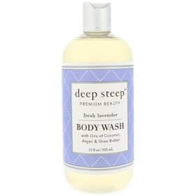 Body Wash, Fresh Lavender, 17 fl oz (503 ml)