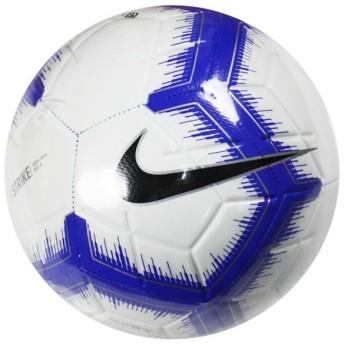 ストライク ホワイト×レーサーブルー 【NIKE|ナイキ】サッカーボール4号球sc3310-104-4