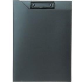 【送料無料】【法人(会社・企業)様限定】PROSSIMO リサイクルレザー クリップファイル A4 ブラック 1冊