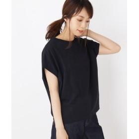 OPAQUE.CLIP(オペークドットクリップ) 【42(LL)WEB限定サイズ】抜けフレンチTシャツ