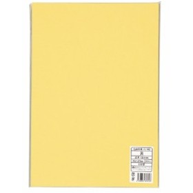 キングコーポレーション 色画用紙 八つ切 10枚 黄 GK8010 (1パック(10枚入))