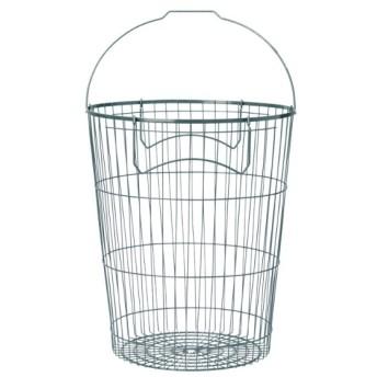 [マルイ] STACKS ワイヤーストレージランドリーバスケット L/タイムレスコンフォート(TIMELESS COMFORT)