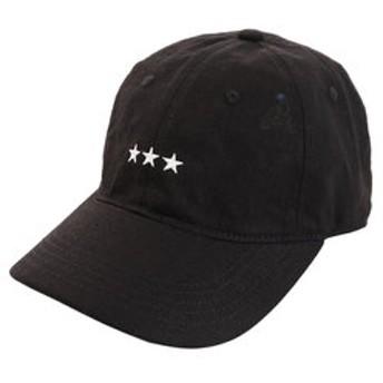 【Super Sports XEBIO & mall店:帽子】リネン刺繍キャップ 3Star 897PA9ST1741 BLK