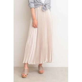 PROPORTION BODY DRESSING プロポーション ボディドレッシング プリーツサテンスカート