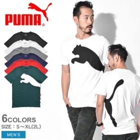 PUMA プーマ Tシャツ 半袖 オーバーサイズ ロゴ Tシャツ OVERSIZE LOGO TEE 854079 メンズ