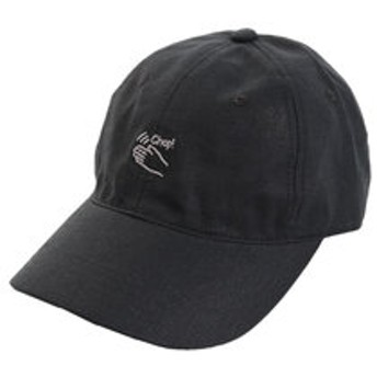 【Super Sports XEBIO & mall店:帽子】リネン刺繍キャップ Chop 897PA9ST1753 BLK