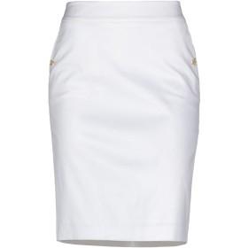《期間限定セール開催中!》LES COPAINS レディース ひざ丈スカート アイボリー 5 コットン 97% / ポリウレタン 3%