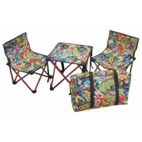 キャプテンスタッグ(CAPTAIN STAG) キャンプ用品 椅子 チェア 机 テーブル マーベル コンパクト テ