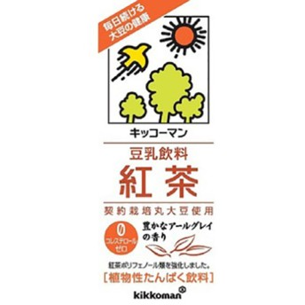 キッコーマン 豆乳飲料 紅茶 (200ml18本入)