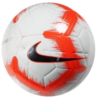 ストライク ホワイト×ハイパークリムゾン 【NIKE|ナイキ】サッカーボール5号球sc3310-103-5