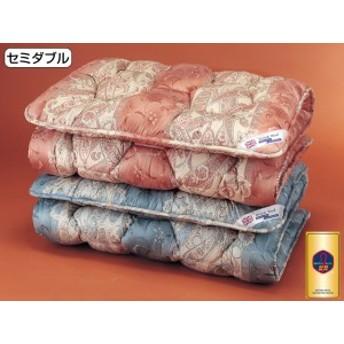 英国羊毛 敷布団 英国羊毛公社認定 ステッキマーク ゴールドラベル 防臭抗菌 SEK 中央増量 8cm厚 敷き布団 セミダブル