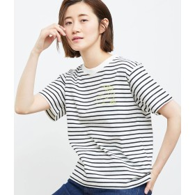 ROPÉ PICNIC ロペピクニック フルーツ刺繍Tシャツ レディース