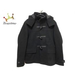 ミッシェルクラン MICHELKLEIN ダッフルコート サイズ48 L メンズ 美品 黒 新着 20190614