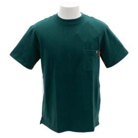 クリフメイヤー(KRIFF MAYER) ワンポイント刺繍タフTシャツ 1755102-5-GRN (Men's)