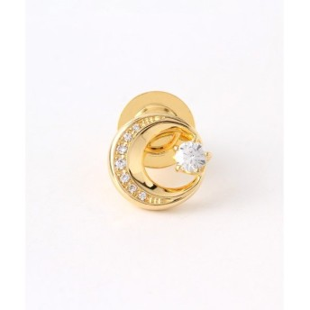 festaria bijou SOPHIA / フェスタリアビジュソフィア 真鍮(K18YGメッキ) Twinkle CZ ピンブローチ