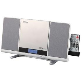 コイズミ Bluetooth搭載ステレオCDシステム(ホワイト) SDB-4342 SDB-4342-W 返品種別A