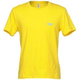 《期間限定 セール開催中》MOSCHINO メンズ アンダーTシャツ イエロー XS コットン 90% / ポリウレタン 10%