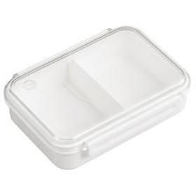 お弁当箱 1段 まるごと冷凍弁当 800ml ランチボックス 保存容器 ホワイト