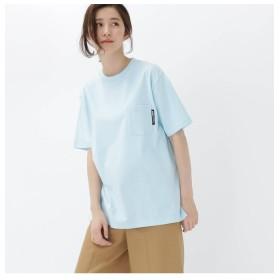 BASECONTROL 半袖Tシャツ クルーネック ポケット レディース