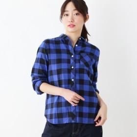 [マルイ]【セール】【洗える】チェックネルシャツ/ハッシュアッシュ(レディス)(HusHusH Ladies)