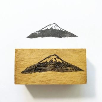 富士山 消しゴムはんこ
