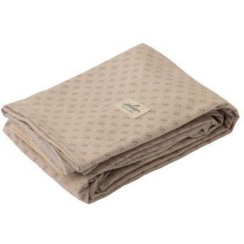 西川産業 掛け布団カバー ベージュ ダブル 日本製 綿100% イトリエ ナチュラルプリント柄 PI28120049BE