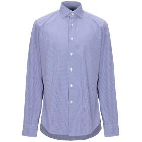 《セール開催中》ALEA メンズ シャツ ブルー 40 コットン 100%