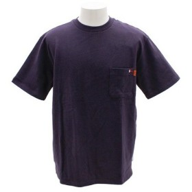 クリフメイヤー(KRIFF MAYER) ワンポイント刺繍タフTシャツ 1755102-8-PUL (Men's)