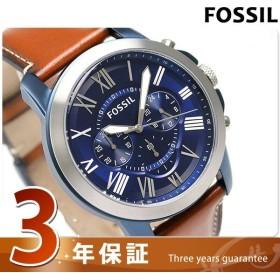 フォッシル グラント 46mm クロノグラフ メンズ 腕時計 FS5151 FOSSIL