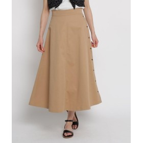 AG by aquagirl(エージー バイ アクアガール) 【Lサイズあり/洗える】サイドボタンロングスカート