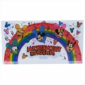 ミッキーマウス&フレンズ ミニファイル マルチファイル レインボー ディズニー チケットケース キャラクター グッズ メール便可