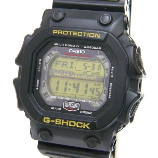910024d285 カシオ 腕時計 G-SHOCK ソーラー電波 GXW-56-1BJF 黒 【中古】(46836 ...