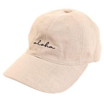 【Super Sports XEBIO & mall店:帽子】リネン刺繍キャップ aloha 897PA9ST1704 BEG