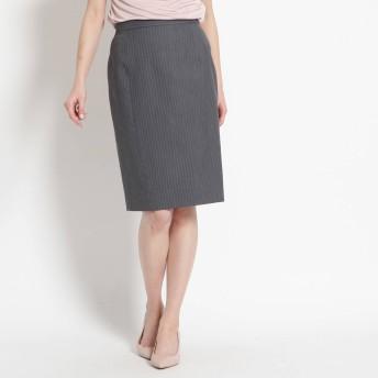 COUP DE CHANCE クードシャンス ピンストライプタイトスカート