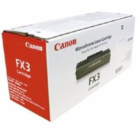 キャノン キヤノン対応FAX用カートリッジ FX-3 FX-3 (1個)