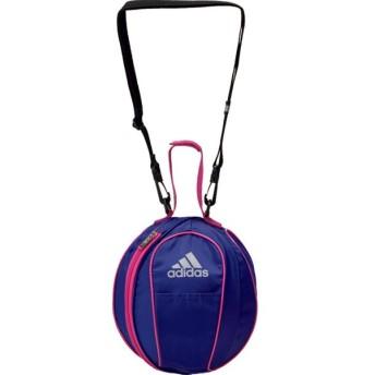 アディダス ボールバッグ1個入れ サッカー用 ブルー×ピンク adidas AKM20BP