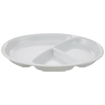 白山陶器 Yトレイ(大) 白磁 (約)25.5×20.5×2.5cm Y-type TRAY 波佐見焼 日本製