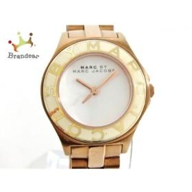 マークジェイコブス MARC BY MARC JACOBS 腕時計 MBM3076 レディース 白   スペシャル特価 20191011