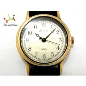 セイコー SEIKO 腕時計 Avenue 1F21-0D30 レディース 社外ベルト ゴールド 新着 20190614