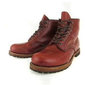 セダークレスト CEDAR CREST HEDGEHOG ブーツ クラシック ワーク ショート 外羽根 レザー 28 茶 ブラウン CC-1538 c