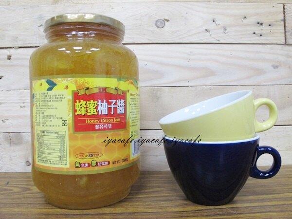 三紅蜂蜜柚子醬 韓國原裝 頂級黃金蜂密柚子醬2kg